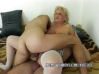 IT Boys Fucks Old Horny Slut