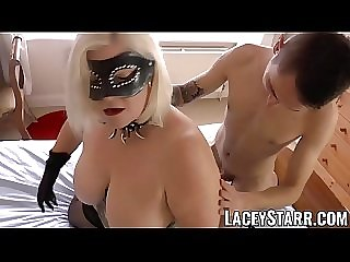 LACEYSTARR - Hot GILF is hungry for deep anal and hot cum
