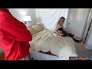 Stepmom shares bed with horny stepson and gets fucked