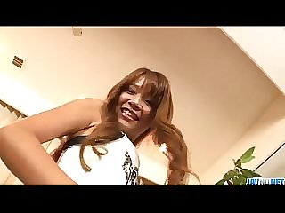 Misaki Tanemura amazes with her tight hairy twat a - More at Javhd.net