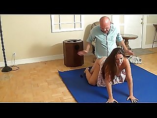 Madisin Lee Daughter fucks stepdad until he cums